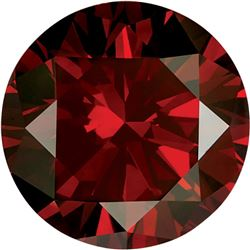 Extra Fine Grade Natural African *Round* Cut VS2-SI1 Vivid Blood Red Diamond