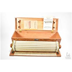Antique Thacher's Calculating Instrument N4012 in fitted wooden case marked Keuffel & Esser Co. with