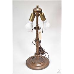 """Antique R.R. Pullman rail car table lamp 19"""" in height"""