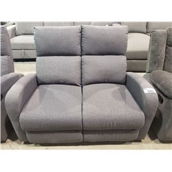 GREY DOUBLE RECLINING SOFA