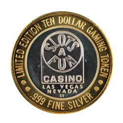.999 Silver Slots A Fun Casino Las Vegas, NV $10 Limited Edition Casino Gaming Token