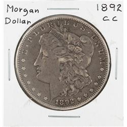 1892-CC $1 Morgan Silver Dollar Coin