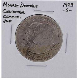 1923-S Monroe Doctrine Commemorative Half Dollar Silver Coin