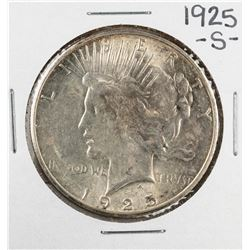 1925-S $1 Morgan Silver Dollar Coin