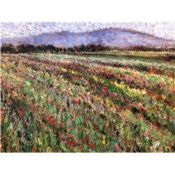 """Field of Flowers"" by Samir Sammoun"