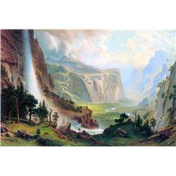 Half Dome in Yosemite by Albert Bierstadt