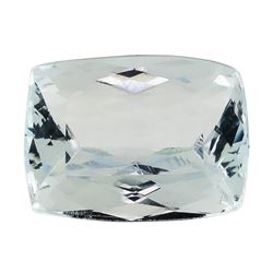 4.25 ct.Natural Rectangle Cushion Cut Aquamarine
