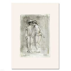 Two Dancers by Hibel (1917-2014)