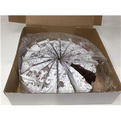 Pre-Sliced Chocolate Cake