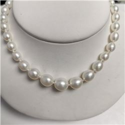 Graduated Fresh Water Pearl (4MM -7MM ct) Necklace (~length 18''cm), Made in Canada, Suggested Retai