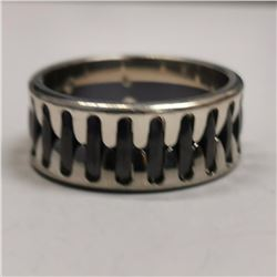 Silver Men'S Ring Ring (~weight 9.8g), Made in Canada, Suggested Retail Value $180