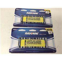 Rayovac AAA Batteries (2 x 12)