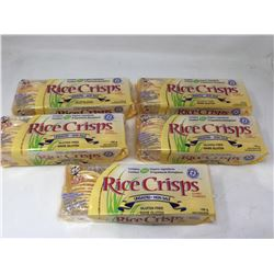 Lot of Gluten Free Rice Crisps-Unsalted (5 x 100g)