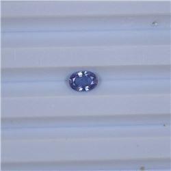 0.94 ct ceylon purple sapphire oval cut