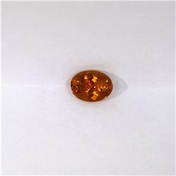 1.27 ct yellow tourmaline oval cut