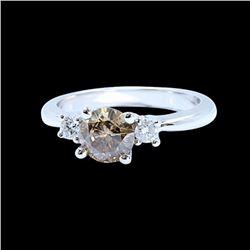 1.03CT NATURAL DIAMOND 14K W/G  RING