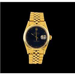 Rolex 18KT Yellow Gold DateJust Men's Watch