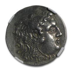 Thrace Mesembria AR Tetradrachm (125-65 BC) XF NGC