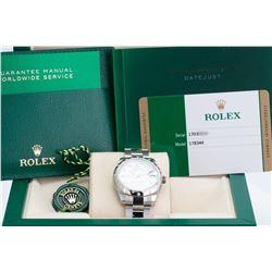 Unworn Rolex Lady Datejust 178344