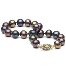 Black Freshwater Pearl Bracelet, 7.5-8.0mm