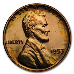 1953 Lincoln Cent Gem Proof (Red)