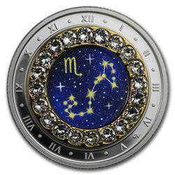2019 Canada 1/4 oz Silver $5 Zodiac Series (Scorpio)