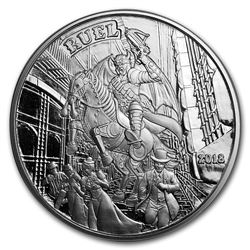 1 oz Silver Proof Round - Angels & Demons Series (Ruel)