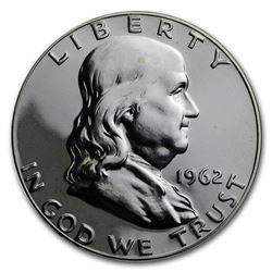 1962 Franklin Half Dollar Gem Proof