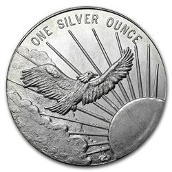 1 oz Silver Round - South East Refining (Flying Eagle)