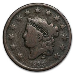 1833 Large Cent VG