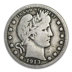 1913 Barber Quarter VG