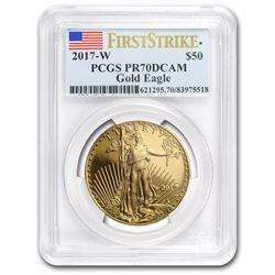 2017-W 1 oz Proof Gold American Eagle PR-70 PCGS (FS)