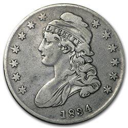 1834 Capped Bust Half Dollar VF