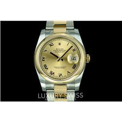 Unworn Rolex Datejust 116203