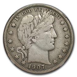 1907-O Barber Half Dollar VF-25 NGC