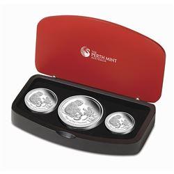 2016 Australia 3-Coin Silver Lunar Monkey Proof Set