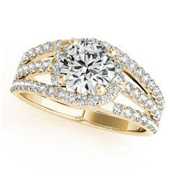 1 ctw Certified VS/SI Diamond Ring 14k Yellow Gold