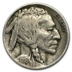 1916-D Buffalo Nickel Fine