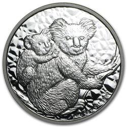 2008 Australia 1 oz Silver Koala BU