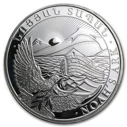 Armenia 1 oz Silver 500 Drams Noah€™s Ark (Random, Abrasions)