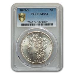1899-S Morgan Dollar MS-64 PCGS