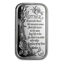 1 oz Silver Bar - Poem for Mother