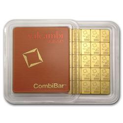 "50x 1 gram Gold CombiBar""¢ - Valcambi (In Assay)"