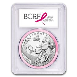 2018-P Breast Cancer Awareness $1 Silver PF-70 PCGS