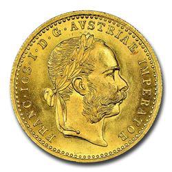 1914 Austria Gold Ducat Franz Joseph I MS-66 NGC