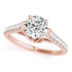 1 ctw Certified VS/SI Diamond Wedding Ring 18k Rose Gold