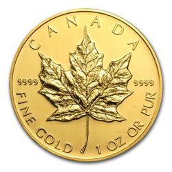 2005 Canada 1 oz Gold Maple Leaf BU