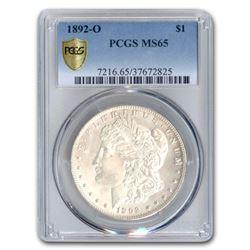 1892-O Morgan Dollar MS-65 PCGS