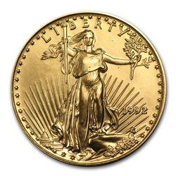1992 1/2 oz Gold American Eagle BU