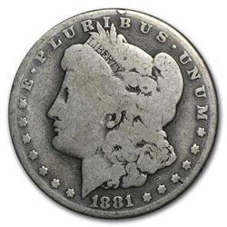 1881-CC Morgan Dollar AG